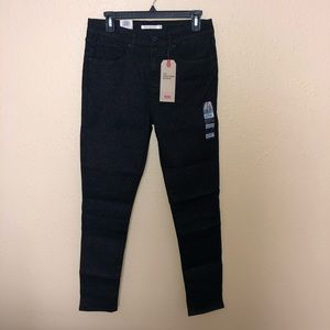 Levi's High Rise Skinny Jeans